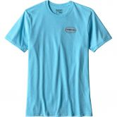 Patagonia - Worn Wear Cotton Response T-Shirt Herren cuban blue