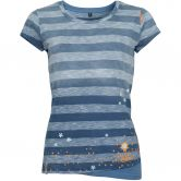 Chillaz - Fancy Little Dot T-Shirt Damen indigo light blue stripes