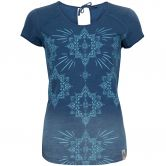Chillaz - Hide The Best Ornament T-Shirt Damen indigo light blue