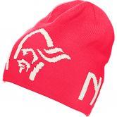 Norrona - Logo Beanie Unisex crisp ruby