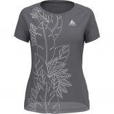 Odlo - Concord T-Shirt Damen grey melange collage print