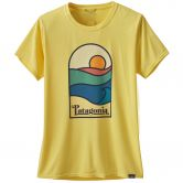 Patagonia - Cap Cool Daily Graphic T-Shirt Damen sunset sets pineapple