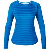 Berghaus - Tech Tee Stripe Damen mykonos blue