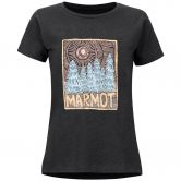 Marmot - Woodblock T-Shirt Damen charcoal heather