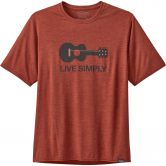 Patagonia - Capilene Cool Daily Graphic T-Shirt Men live simply guitar roots