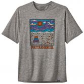 Patagonia - Capilene Cool Daily Graphic T-Shirt Men summit road feather grey