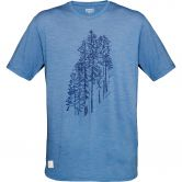 Norrona - Svalbard Wool T-Shirt Men denimite
