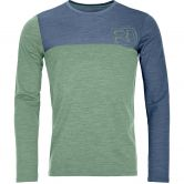 ORTOVOX - 150 Cool Logo Longsleeve Men green isar blend