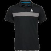 Odlo - Nikko Light Poloshirt Herren black steel grey