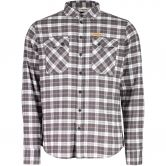 Maloja - OuluM. Hemd Summit Check Herren charcoal
