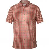 Fjällräven - High Coast Shirt Kurzarmhemd Herren seashell orange