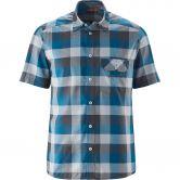 Maier Sports - Lorensis Shortsleeved Shirt Men blue grey check