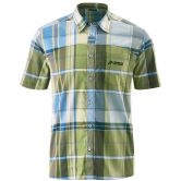 Maier Sports - Errki Shortsleeved Shirt Men blue green check