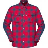 Norrona - svalbard Flannel Shirt Men jester red