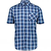 CMP - Short Sleeves Shirt Men indigo