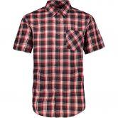 CMP - Short Sleeves Shirt Men salsa