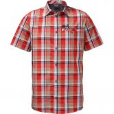 Jack Wolfskin - Fairford Shirt Herren fiery red checks