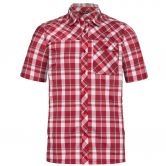 VAUDE - Bessat II Shortsleeve Shirt Men dark indian red