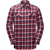 Jack Wolfskin - Bow Vally Hemd Herren red blue checks