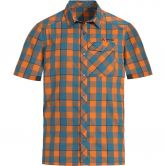 VAUDE - Men's Prags Shirt II Short Sleeve Shirt Men orange madder