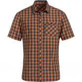 VAUDE - Men's Sonti Shirt III Short Sleeve Shirt Men orange madder