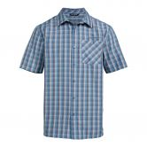 VAUDE - Albsteig II Shirt Men blue gray