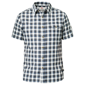 Fjällräven - Singi Flannel Shirt SS men uncle blue