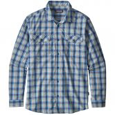 Patagonia - High Moss Short Men ombre boxes radar blue