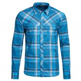 Maier Sports - Merton Button Down Shirt Men blue check