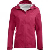 VAUDE - Women's Simony 2,5L Jacket III Rain Jacket Women crimson red