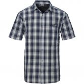 Jack Wolfskin - Fairford Shirt Herren blue checks
