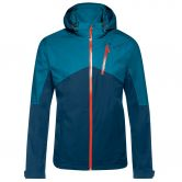 Maier Sports - Luzon Inzip Hardshell Jacket Men blue wing teal
