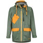 Marmot - Ashbury PreCip Eco Hardshell Jacket Men crocodile aztec gold