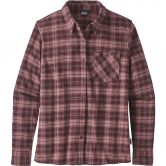 Patagonia - Heywood Flannel Shirt Women herder dark currant