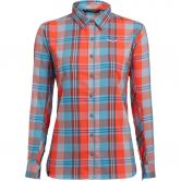 SALEWA - Fanes Flannel 2 PL Shirt Women m fluo cor