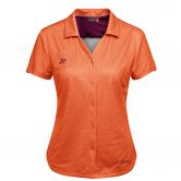 Maier Sports - Lleyn Bluse Damen orange allover