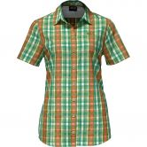 Jack Wolfskin - Fairford Shirt Damen leaf green checks