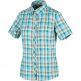 CMP - Short-Sleeved Blouse Women curacao check