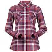 Bergans - Bjorli Shirt Damen dusty plum koi orange check