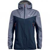 SALEWA - Agner PTX 3L Hardshell Jacket Women navy blazer