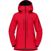 Norrona - Lofoten Gore-Tex Pro Hardshell Jacket Women true red