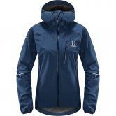 Haglöfs - L.I.M Hardshell Jacket Women tarn blue
