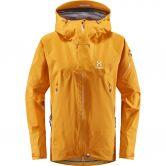 Haglöfs - Roc Spire Hardshell Jacket Women desert yellow