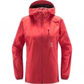 Haglöfs - L.I.M Hardshell Jacket Women hibiscus red