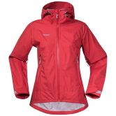 Bergans - Letto Hardshell Jacke Damen pale red