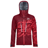 ORTOVOX - 3L Guardian Hardshell Jacket Women dark blood