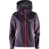 Haglöfs - Roc Spirit GTX® Jacket Damen acai berry
