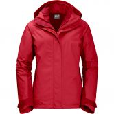 Jack Wolfskin - Iceland Voyage 3in1 Jacke Damen true red