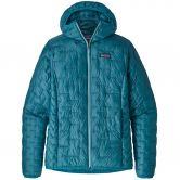 Patagonia - Micro Puff Hoody Isolationsjacke Damen mako blue