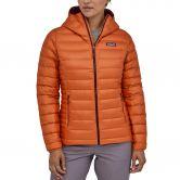 Patagonia - Down Sweater Hoody Down Jacket Women sunset orange